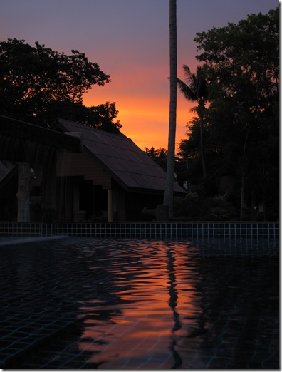 Kaw Kwang Lanta sunset