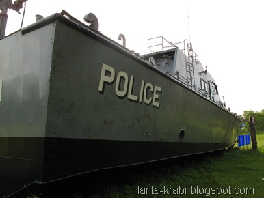 Police Boat 813 Khao Lak