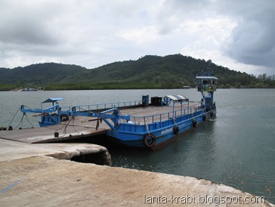 Koh Lanta Road Ferry