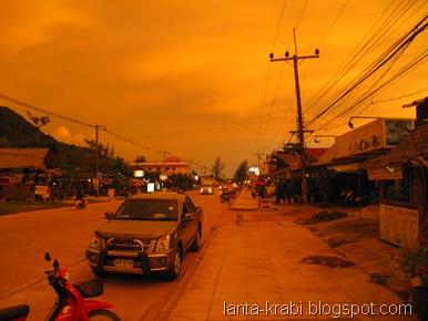 Sunset Koh Lanta