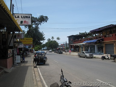 Ao Nang Quiet Street