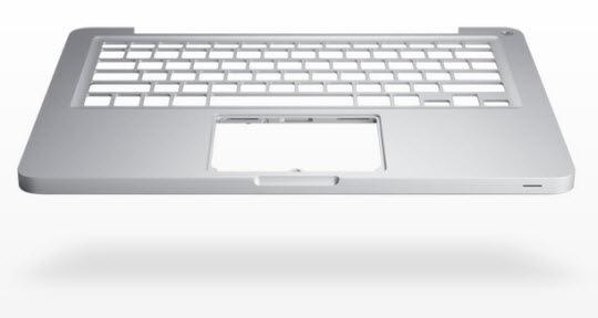 Aluminium Unibody of Apple Macbook