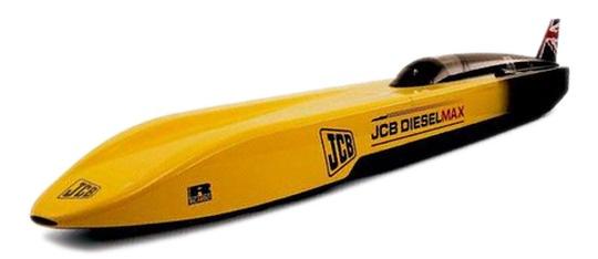 JCB's DieselMax Fastest Diesel Car