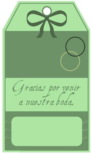 etiquetas para poner en los recuerdos de boda