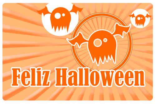 Felicitacion de Halloween