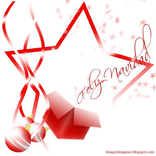Felicitacion de Navidad en Rojo