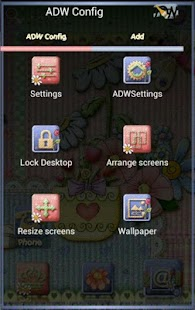 ADW Launcher Theme Mother Day - screenshot