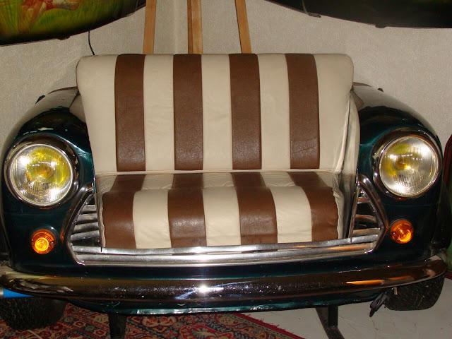 Canape voiture mini austeen objet de d coration rare for Canape voiture