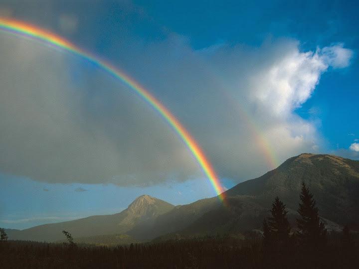 Beautiful Rainbow Screensavers