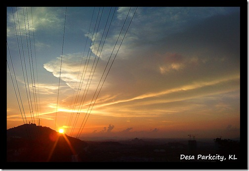Desa ParkCity_KL_Sunset