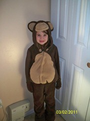 Savannah as Curious George