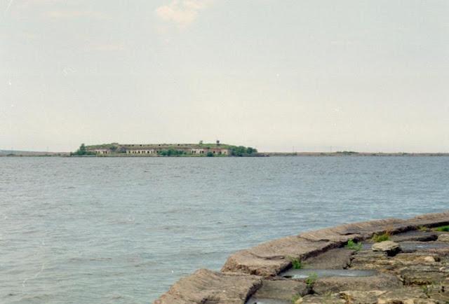 Вид на форты