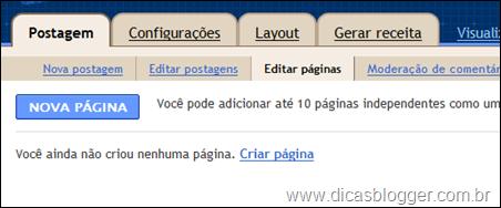 Nova página