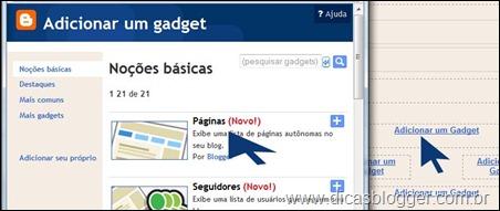 gadget páginas