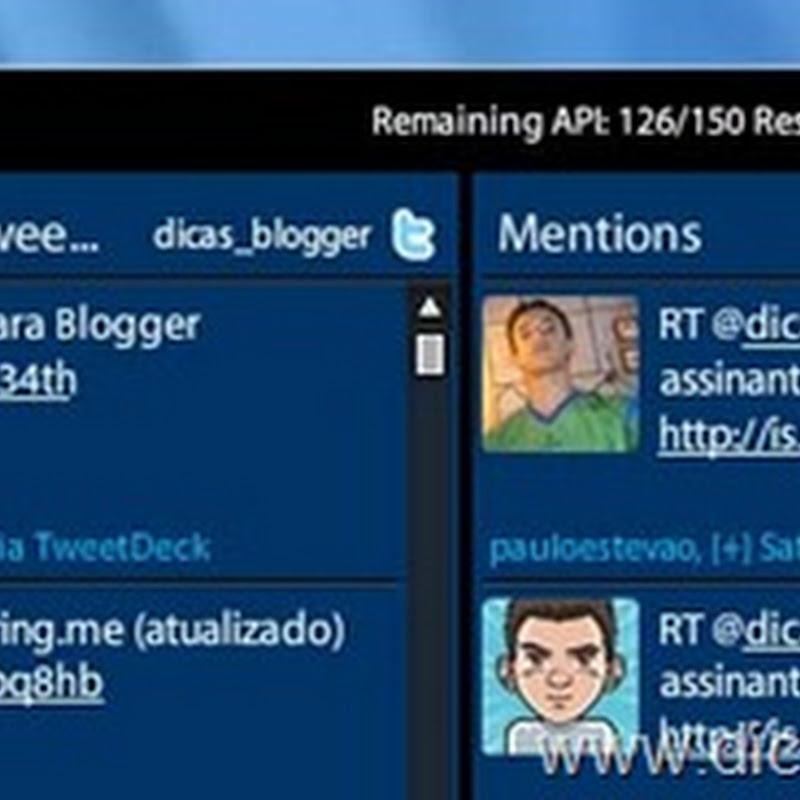 Como usar e configurar o TweetDeck