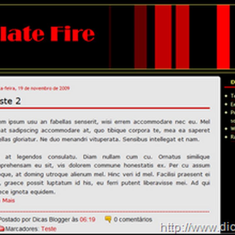 Template Fire