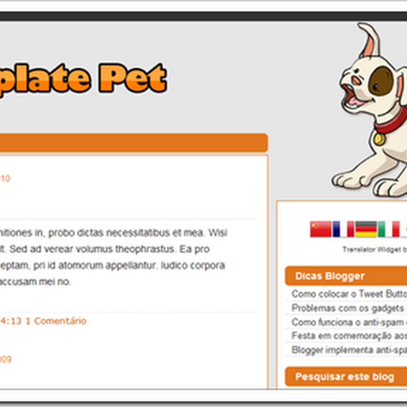 Template Pet