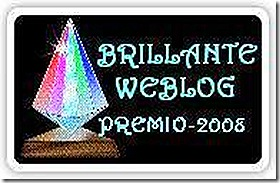 PREMIO BRILLANTE WEBLOG GRAZIE JESSE