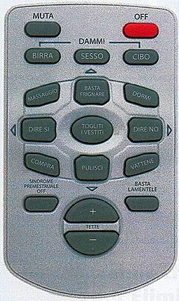 Telecomando per gli uomini