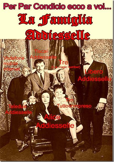 La famiglia Addiesselle