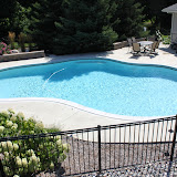 Gunite oasis pool