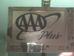 Triple A Sticker