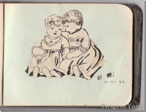 Autograph-book-twins