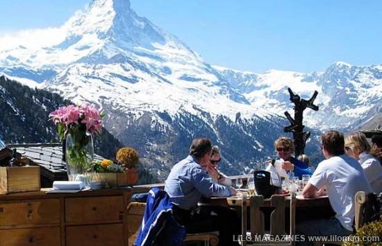 Restoran di puncak gunung terbaik dan terindah di dunia