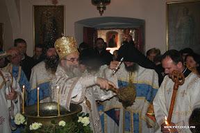 Фотографије из Цетињског манастира са Свете Литургије и Освећења воде