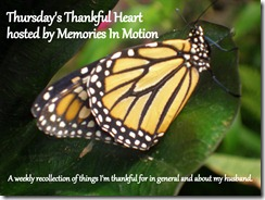 Thursdays Thankfulness