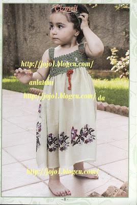 IMG 0007 tülbentten çocuk elbise yapımı