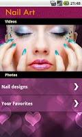 Screenshot of Nails Designs Art