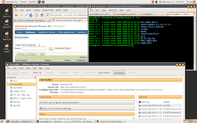 Screenshot Ubuntu Desktop Environment