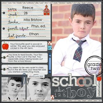 school boy copy