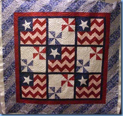 0609 Fourth of July Quilt for Tiny Stitches
