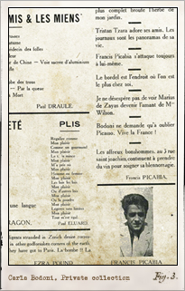 Dada. París: n.7, marzo 1920. Editada por Tristan Tzara. Pulsar para ver la imagen completa