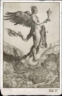 Nemesis por Albrecht Durer o Duerer © Bridgeman Art Library © Leeds Museums and Galleries (City Art Gallery) U.K
