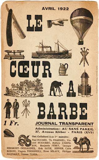 Carla Bodoni en Le Cœur à barbe. París: n.1, abril 1922. Editada por Tristan Tzara. Pulse para ver la imagen completa