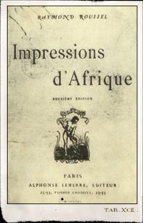 Impressions d'Afrique. Libro falsificado por Guy de Lalande