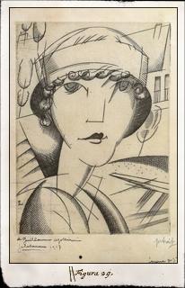 Carla Bodoni por Jean Émile Laboureur (París, 1917)