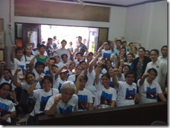 Morong Health workers defiant n in good spirits