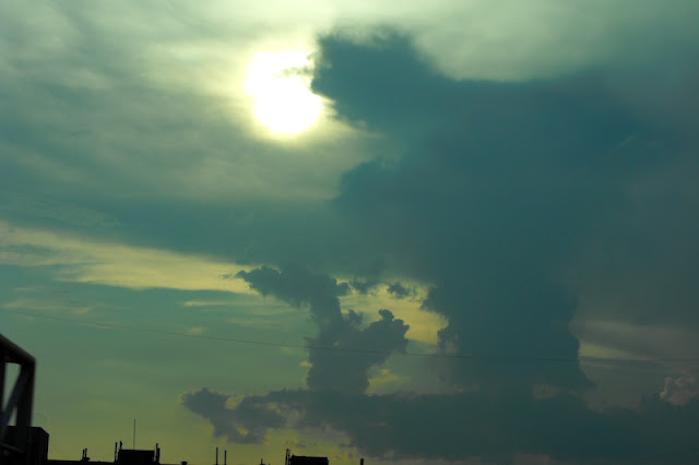 forme ciudate de nori, Sofia, Bulgaria