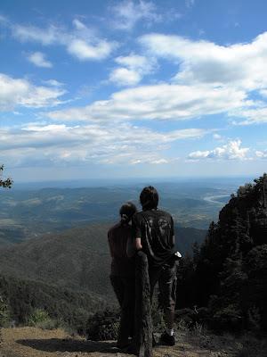 privire spre Valea Oltului