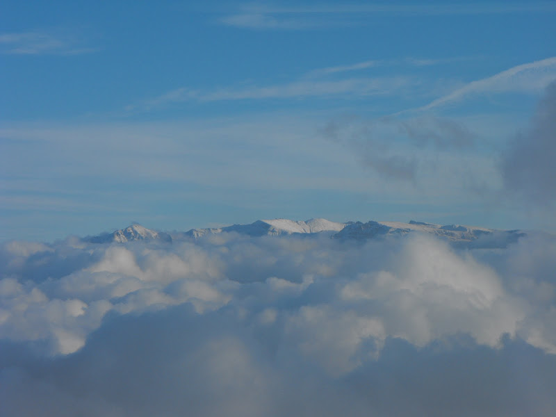 în Bucegi a nins deja...