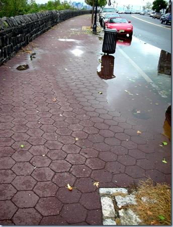 Wet Barefoot Run 9766