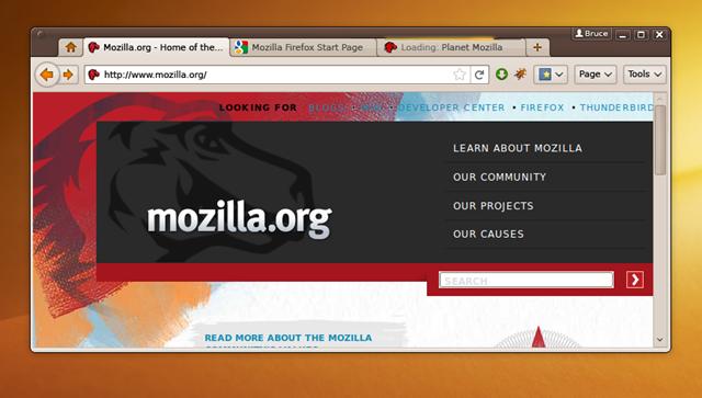 المتصفح Firefox القادم بقوه كوكب