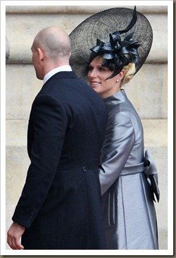 Zara Philips y Mike Tindall