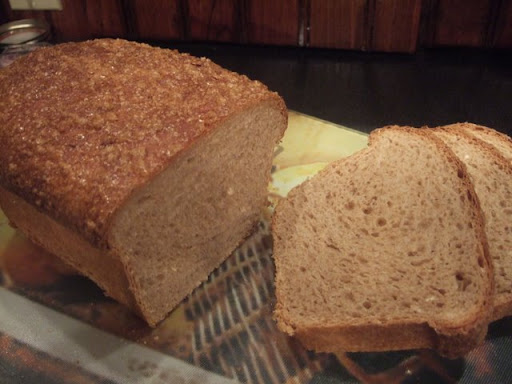 Maple Oatmeal Bread