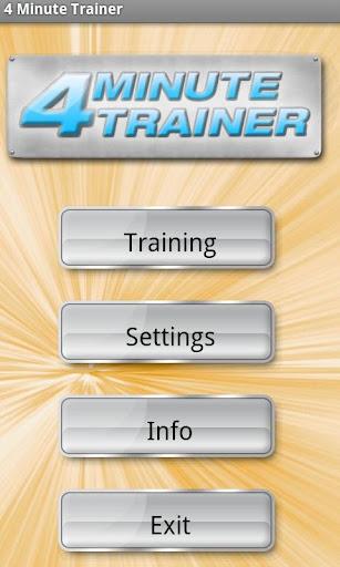4 Minute Trainer