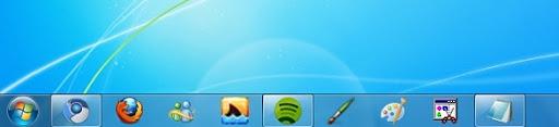 greenshot 2010 02 22 09 00 32 Cómo convertir la barra de tareas de Windows 7 en la de XP
